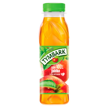 Tymbark - Sok jabłkowy 100%. Smakuje dobrze sam i jako dodatek do alkoholu.