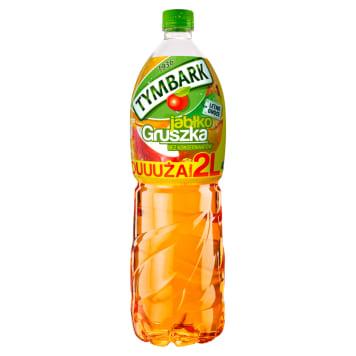 Tymbark - Napój jabłko-gruszka w plastikowej butelce. Orzeźwienie i doskonały smak w jednym.