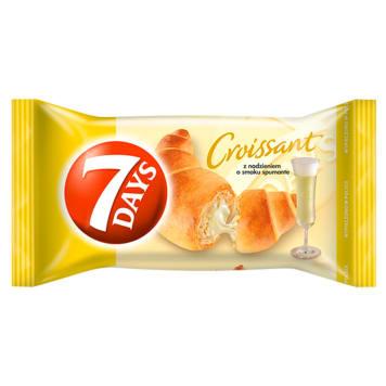 Rogalik szampański 7 Days. Croissant z nadzieniem o smaku włoskiego wina.