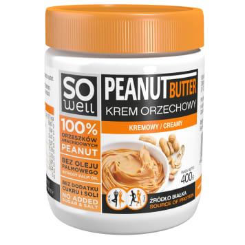 SO WELL Peanut butter cream 400g
