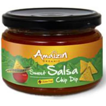 AMAIZIN Sos salsa łagodny bezglutenowy BIO 260g