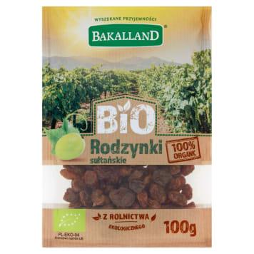 BAKALLAND BIO Sultan raisins 100g