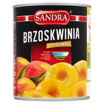 SANDRA Brzoskwinie Połówki 820g