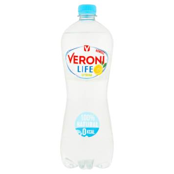 VERONI LIFE Lemon fizzy drink 1l