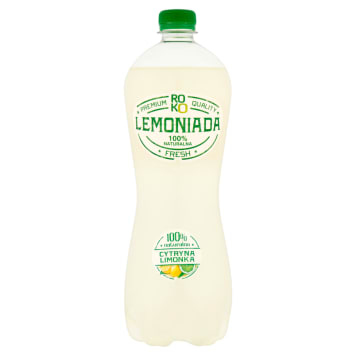 ROKO LEMONIADA Lemon and lime carbonated drink 6l