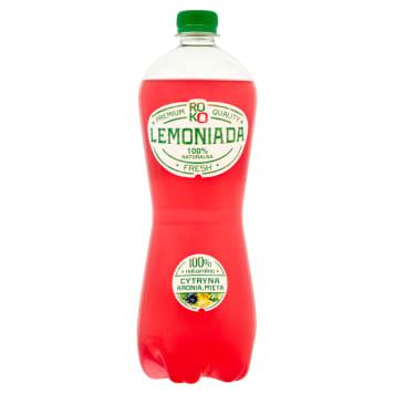 ROKO LEMONIADA Lemon-aroma-mint fizzy drink 1l