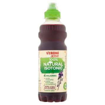 VERONI ACTIVE 100% Natural Isotonic Napój izotoniczny niegazowany aroniowo-cytrynowy 700ml