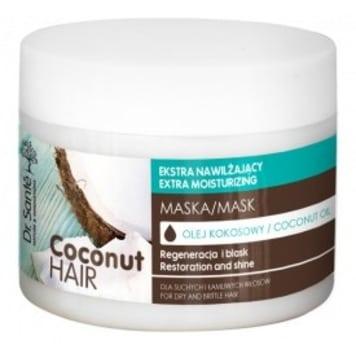 DR SANTE Maska z olejem kokosowym dla suchych i łamliwych włosów 300ml