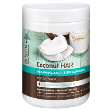 DR SANTE Mask with coconut oil for dry and brittle hair 1l