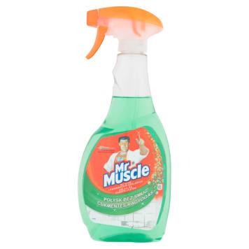Płyn do mycia szyb - Mr. Muscle. Skuteczny i wydajny środek do czyszczenia szklanych powierzchni.