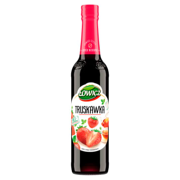 ŁOWICZ Syrop o smaku truskawkowym 400ml