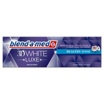 Pasta wybielająca do zębów - Blend-a-med. Pielęgnuję i chroni szkliwo jednocześnie wybielając zęby.