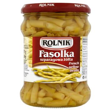 ROLNIK Standard Fasolka szparagowa żółta 500ml. Doskonały warzywny dodatek do wielu potraw.