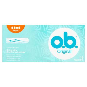O.B.® Original Super Tampons 16 pcs 1pc