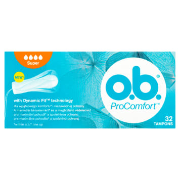 O.B.® ProComfort Tampons super 1pc