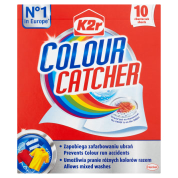 K2R Colour Catcher Washing tissues 10 items 1pc