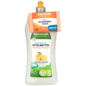 SODASAN Dishwashing lotion with orange fragrance 1l