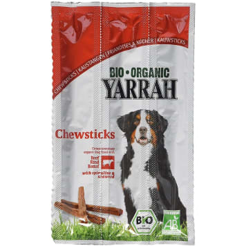 YARRAH Snacks for dogs with sea algae 3 pcs BIO 33g