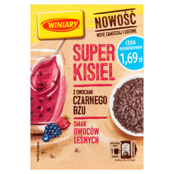 WINIARY Super Kisel Forest Fruits with Black Lilac 27g