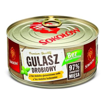 SOKOŁÓW Chicken stew 300g
