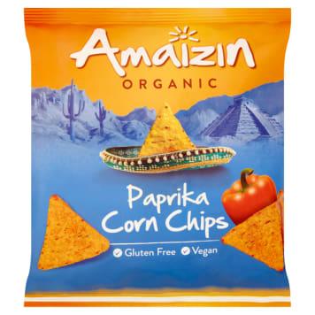 AMAIZIN Chipsy kukurydziane paprykowe BIO 75g