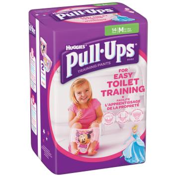 HUGGIES Pull-Ups M Training Pants for Girls 12-18 kg 14 per Pack 1pc