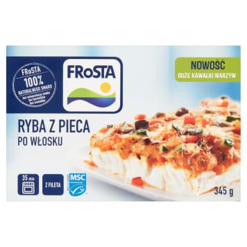 Ryba z pieca z sosem włoskim - Frosta. Szybki pomysł na smaczny posiłek.
