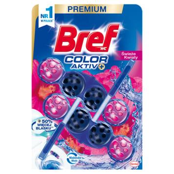 BREF Color Aktiv Zawieszka do WC - Świeże kwiaty 2x50g 1szt