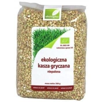 EKOLOGIKO Buckwheat groats not roasted BIO 500g