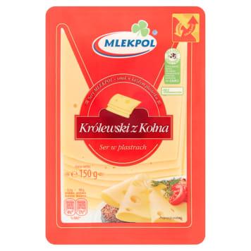 Ser Królewski z Kolna - Mlekpol. Ser na wycieczkę i piknik.