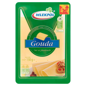 MLEKPOL Gouda Sliced Cheese 1.8 kg