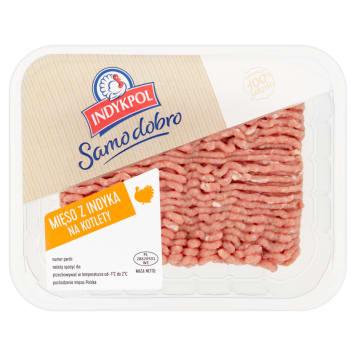 Mięso mielone na kotlety z indyka - Indykpol
