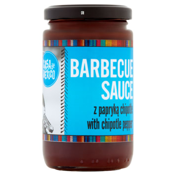 CASA DE MEXICO BBQ sauce with chipotle peppers 230g