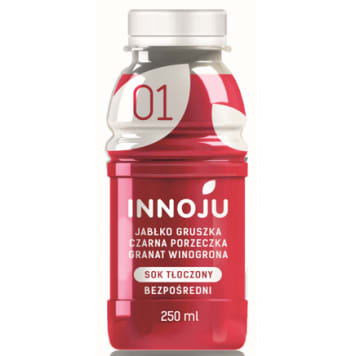 INNOJU Natural, cloudy juice 100% from apples and pears 250ml