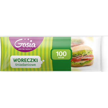 GOSIA Woreczki śniadaniowe  rolka 100 szt. 1szt