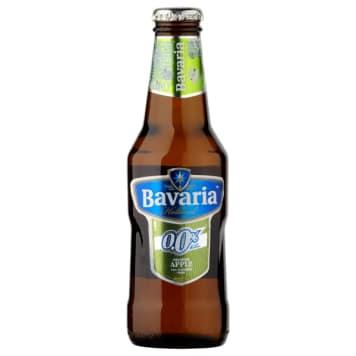 Bezalkoholowe piwo - Bavaria Apple Malt. Świetnie gasi pragnienie i orzeźwia.