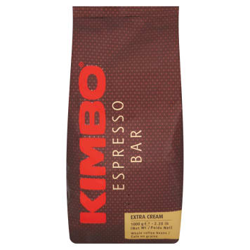 KIMBO Espresso Bar Extra Cream A blend of roasted coffee beans 1 kg
