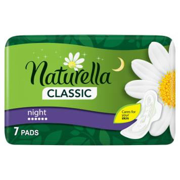 Naturella - Podpaski higieniczne Night 7 szt. zapewniają komfort i spokojny sen. Chroni skórę.
