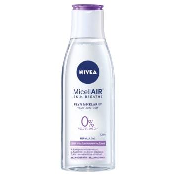 Nivea Sensitive 3w1 - Płyn micelarny. Głębokie oczyszczenie i nawilżenie skóry twarzy.