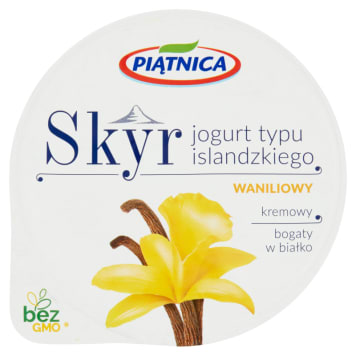 PIĄTNICA Skyr Icelandic vanilla yoghurt 150g
