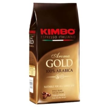 KIMBO Aroma GOLD 100% Arabica coffee beans 1kg