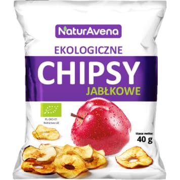 Chipsy jabłkowe - NATURAVENA . Pyszna i zdrowa alternatywa tradycyjnych chipsów.