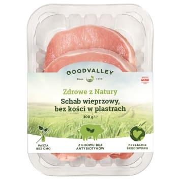 GOODVALLEY Z chowu bez antybiotyków Pork loin slices 300g