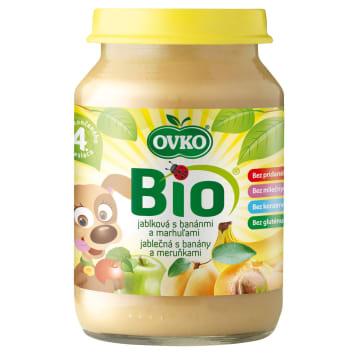 OVKO Dessert apple, banana, apricot - after 4 months BIO 190g