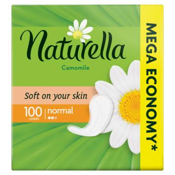 Wkładki higieniczne - Naturella Liners. Miękkie i wygodne, zapewaniają uczucie komfortu.