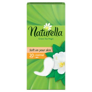 Naturella Green Tea - Wkładki higieniczne 20 szt. - świeżość na co dzień
