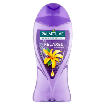 Aroma Żel pod prysznic So Relaxed 250ml PALMOLIVE. Pięknie pachnie i umila czas kąpieli.