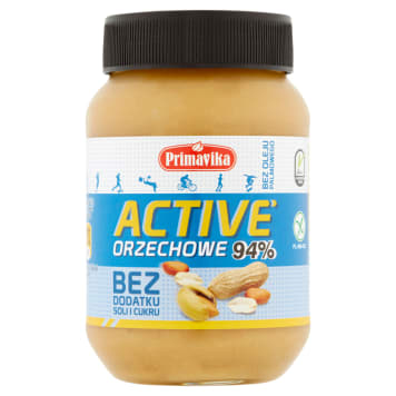 PRIMAVIKA Active nut butter without added salt and sugar 470g