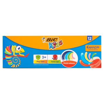 BIC Kids 12 color poster paints 1pc