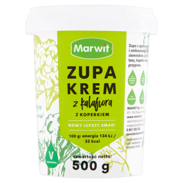 MARWIT Cream soup with cauliflower and dill 500g